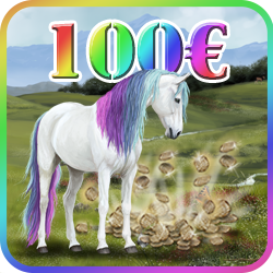 12000 Token + 1 Rainbowhorse
