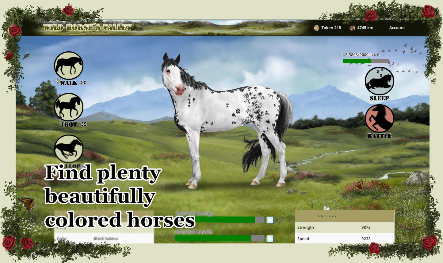 Games horse Virtual Horse
